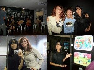 #100happydays #day02 #26-06-2014: Apresentação dos amigos que fazem parte da orquestra jovem e exposição de mangá
